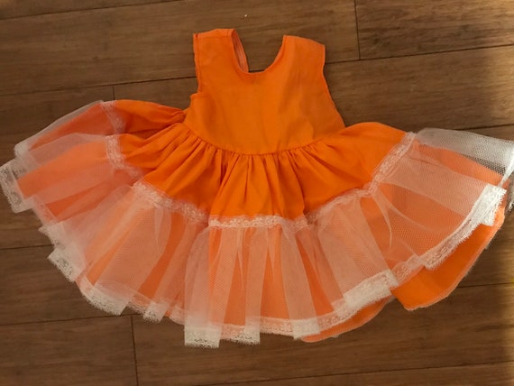 Handmade dress with slip, 12 month floral dress w… - image 3
