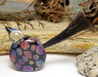Lampwork Sculpture - Wyld Thingz - Bird