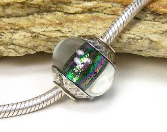 Lampwork Glass Charm Bead - Large Hole - BHB (No. 10)