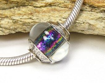 Lampwork Glass Charm Bead - Large Hole - BHB (No. 9)