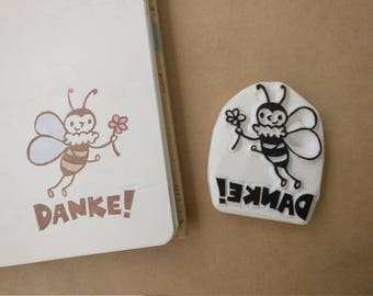 Sweet Bee Stamp - Danke!