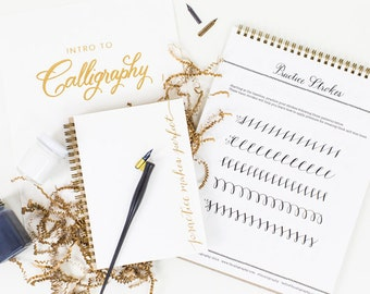 Calligraphy Starter Kit + Online Course
