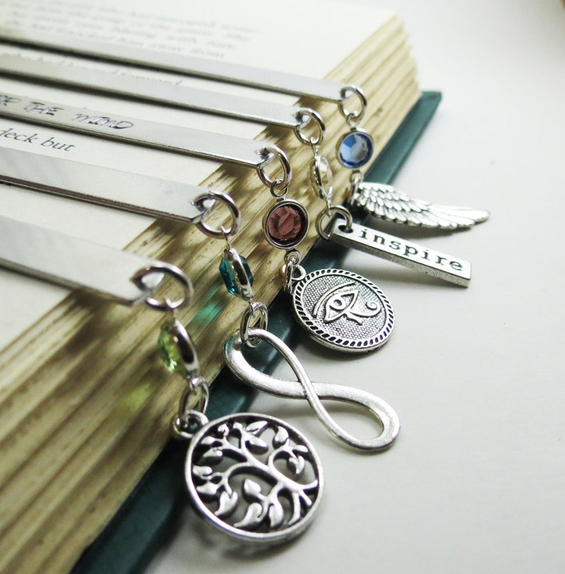 Bookmark Personalized Gift for Mom Wedding Teacher Gift Book image 0
