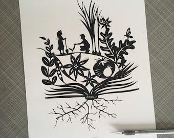 SEED Papercutting