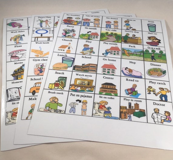 graphic regarding Picture Cards for Autism Printable referred to as Printable, Autism PECS, Visible Help Conversation Playing cards For Visible Schedules, ABA Treatment method