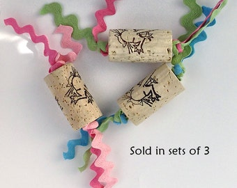 Wine Cork Cat Toys
