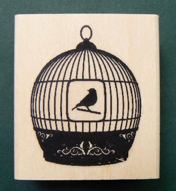 butterfly rubber stamp WM  Deep etched P22