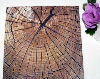 2 Oak tree image Napkins from Germany