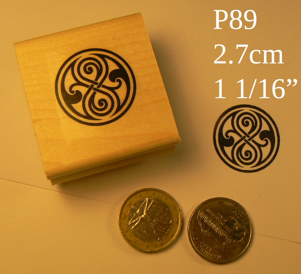 P89 Time Lord Symbol Dr Who Rubber Stamp Etsy