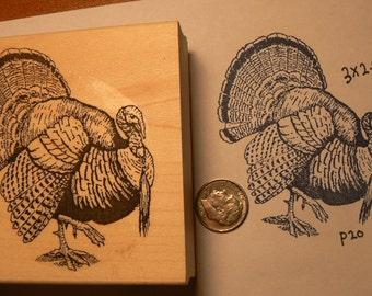 Turkey rubber stamp P20