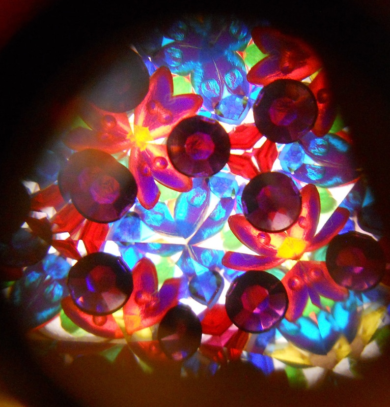 Boy Toy Boho Kaleidoscope Kaleidoscope Necklace The Dude  Mini Kaleidoscope Necklace Kaleidoscope
