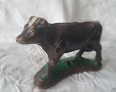 Antique Putz Cow, Nativity Piece