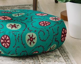 NAMAIS  Boho Floor Pillow  Floor Cushion  Pouf  Meditation Pillow  Moroccan