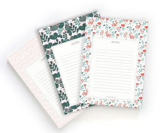 Stationery Note Pad, Illustrated To Do Notepad, A6 To Do List, Memo Pad, Memo Notepad / Gift for her / Valentines day