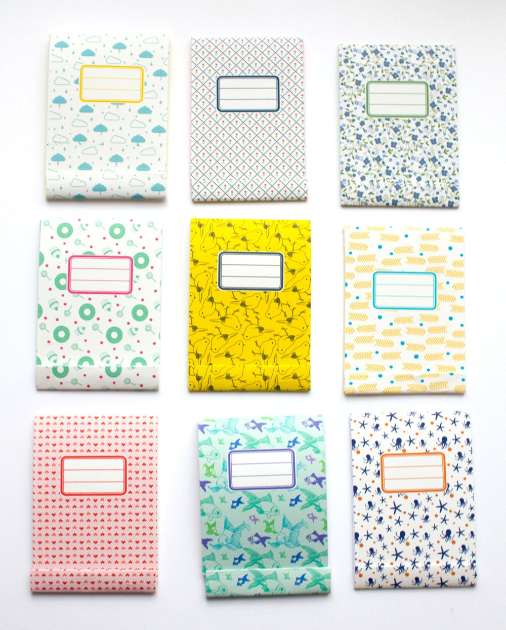 Matchbook notepad Custom notepad Memo pad Ideal for