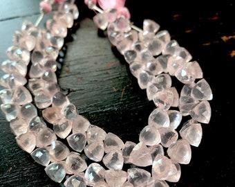 12 Strand Rose quartz  trillions