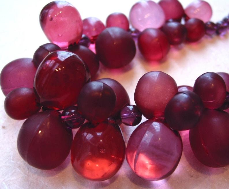 Purple Grapes Necklace image 0
