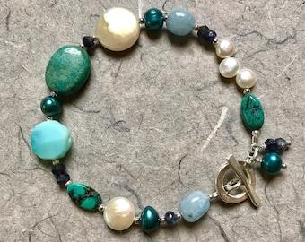 Carribean Blue Bracelet