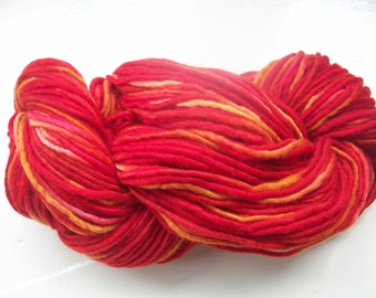 Destash Merino Manos del Uruguay 100g scarlet red, orange