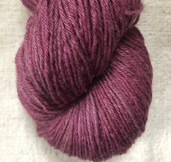 lace weight silk yarn dyed naturally with cochineal | etsy