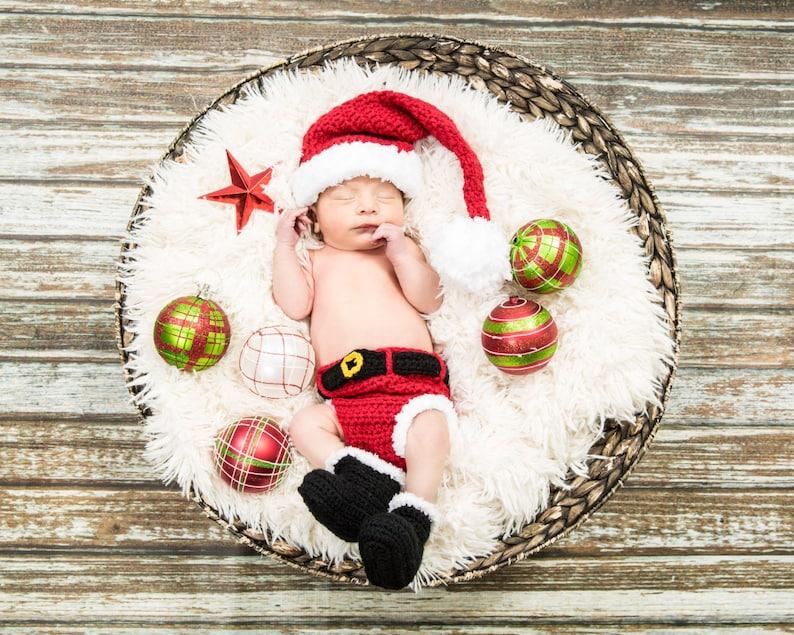 a4a07257e2d Crochet Santa Outfit Baby boyBaby boy Santa Suit Santa