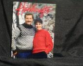 Vintage 1986 Country Handcrafts Winter Crafts ,Amish Wall Hanging,Mug Rack,Hanging Basket,Crochet,Pot Holders,Felt Dolls, SEWBUSY12