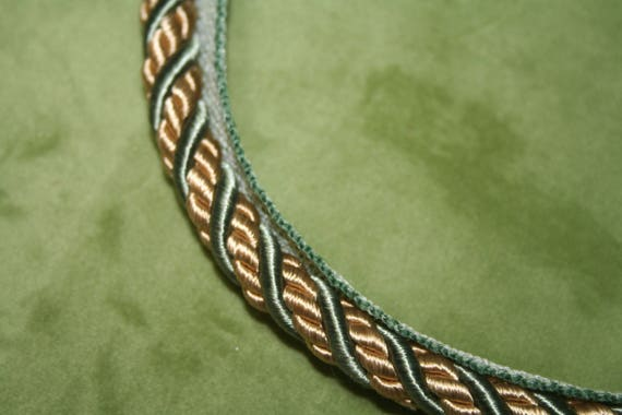 New Upholstery Pillow Embellishment 1 Lip Cord Sage Etsy