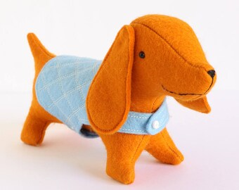Wiener Dog Plush Etsy