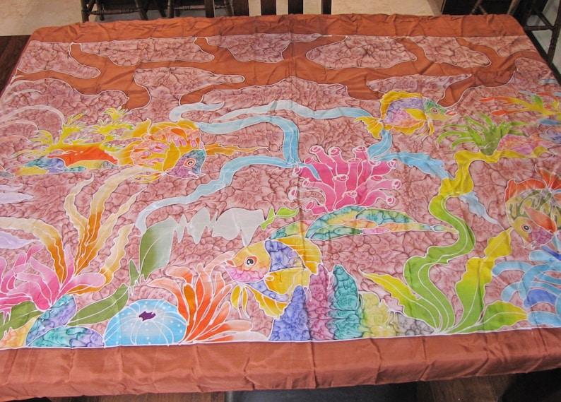 7522a2ffbf926 Silk Shawl Silk Pareo Silk Wrap Silk Scarf Silk Sarong   Etsy