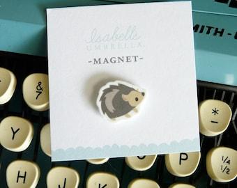 Illustrated Hedgehog Handmade Magnet (Style1)