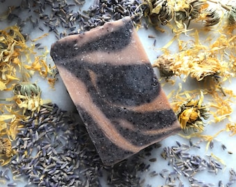 Black Amber Lavender Type 3 Shampoo And Body Bar Offers Body Volume Organic Ingredients