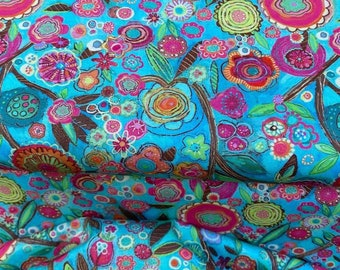 FLORAL VINE fabric NEW