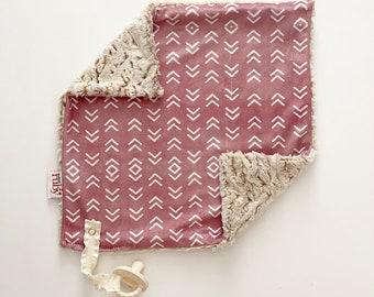 RTS Pink Arrow Lovey   Minky Blanket   lovey blanket   binky blanket   baby blanket   Minky Binky Blanket