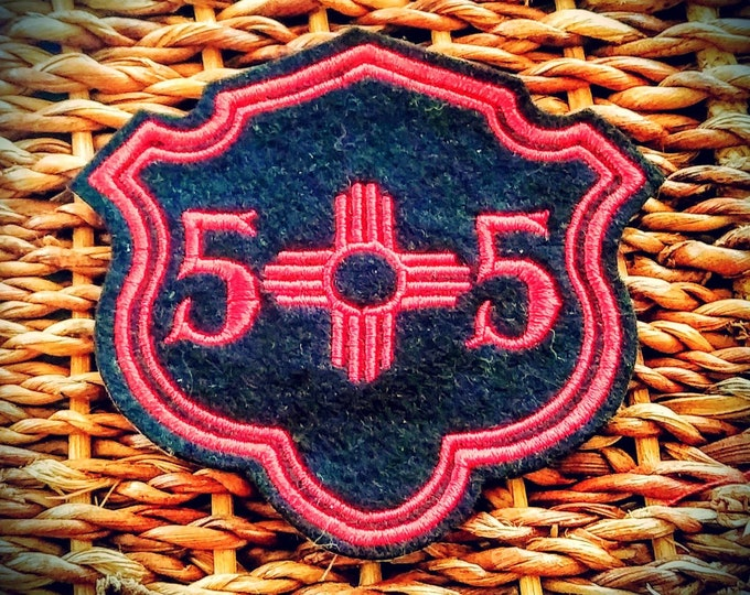 New Mexico 505 patch