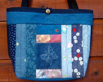 Butterfly Reusable Grocery and Everything Large Eco Washable Bag
