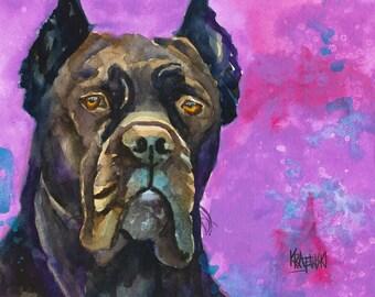 Cane Corso Portrait Etsy