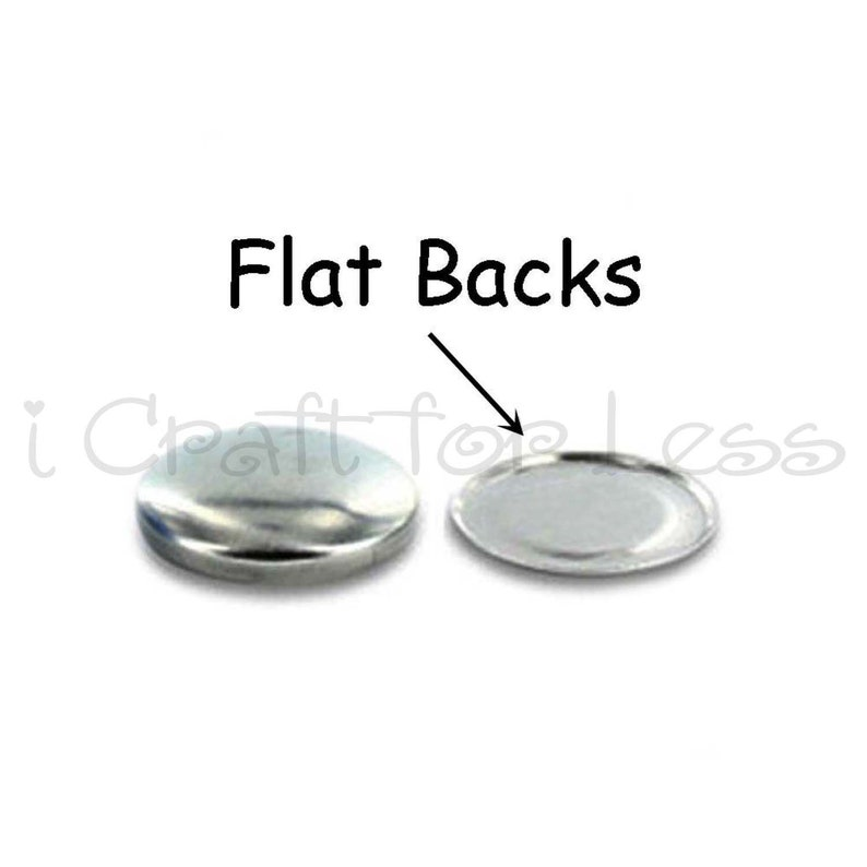 - Flat Backs Size 75 50 Cover Buttons  Fabric Covered Buttons 1 78 inch - 48mm