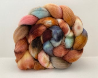 Hand Dyed Merino Wool Combed Top - 4.1oz