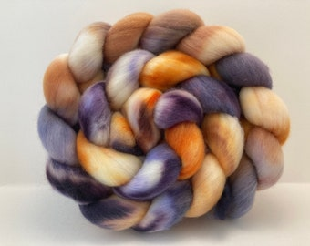 Hand Dyed Merino Wool Combed Top - 4.3oz