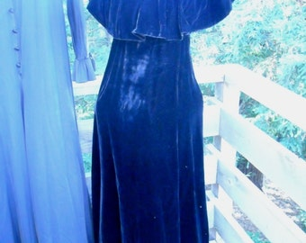 9bc6d84a567 Anthony Muto Velvet Dress Marita Label Young Dimensions for Saks Fifth  Avenue