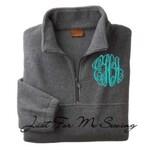 Monogrammed Fleece Pullover-Price Includes Monogram