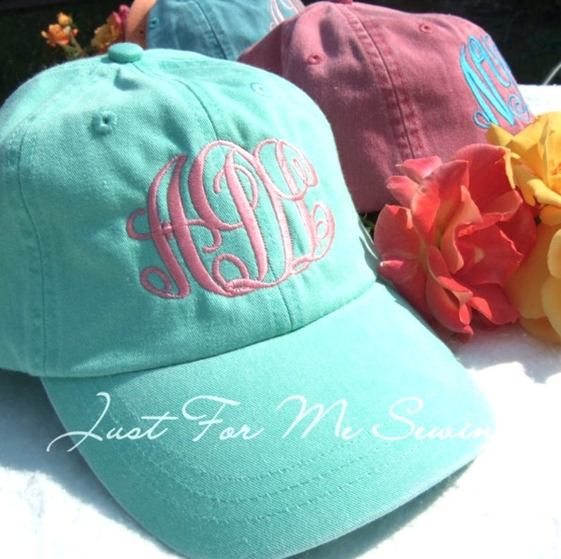 Monogrammed Baseball Hat-Fast Shipping-Monogram included image 0