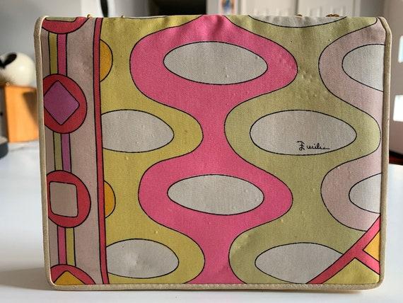 Vintage 1960s Emilio Pucci Silk Purse - image 4