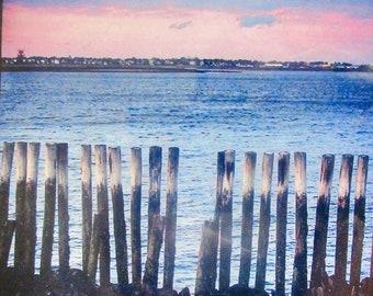 Small Framed Seaside Photo Print