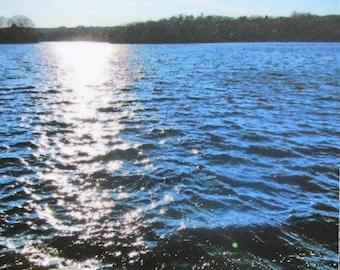 Lake Photo Magnet
