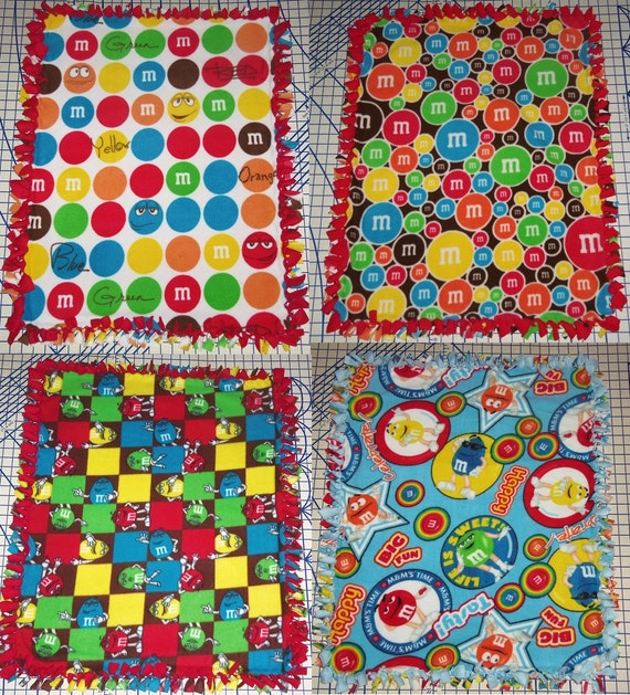 Hair Scrunchie M/&M M/&M/'s Candy Fabric Scrunchies by Sherry Ponytail Holders Ties