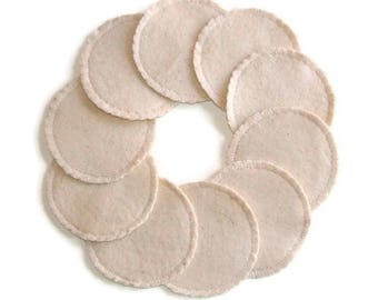 Natural Unbleached Reusable Cotton Rounds Make-up Remover Pads