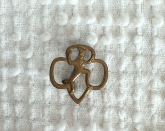 NUMBER SEVEN #7 Troop Numeral Brownie Junior Girl Scout UNIFORM PATCH