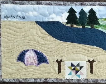 Row by Row Experience 2017 Quilt Kit-#getoutside-RxR
