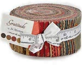 Gratitude-Moda Fabrics-Jo Morton-2.5 inch strips- Jelly Roll